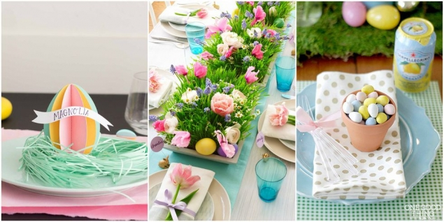 Cheerful Ways to Decorate Your Easter Brunch Table