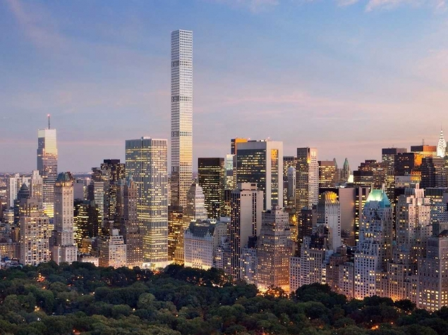 432 PARK AVENUE SKYSCRAPER - THINNEST, TALLEST AND FANCIEST!