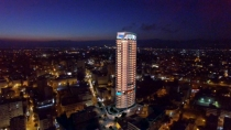 The tallest building in Nicosia is under construction