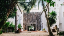 Pablo Escobar's Tulum mansion becomes art-filled boutique hotel (Pics)