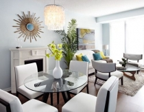 Living & Dining Room Tips for Small Spaces + Condos Video