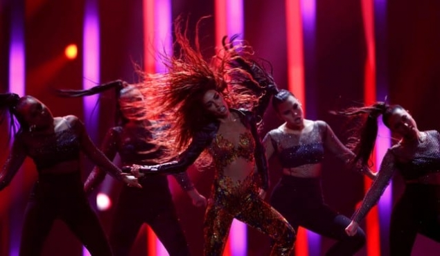 Foureira takes Cyprus to second place in Eurovision