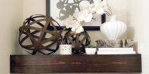 Different Ways to Style Floating Shelves