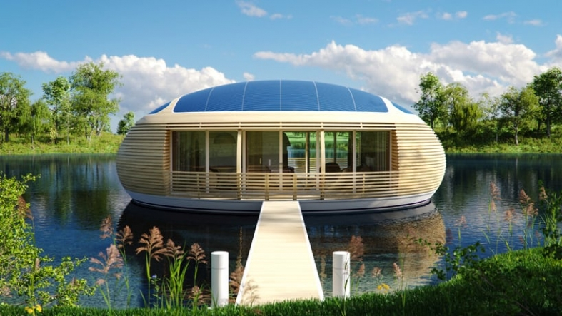 Floating House Architecture: 12 Wow Designs on the Water