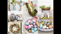 Top-7 Latest Easter Decorating Trends For 2019 / Spring Home Decor Ideas (Video)